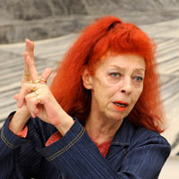 Jeanne-Claude -  Christo and Jeanne-Claude href=