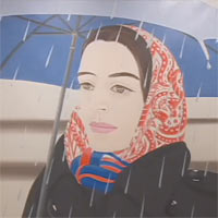 Alex Katz Paints Ada  href=