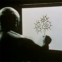 Picasso is Painting. 1956  href=