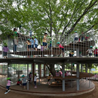 Ring Around a Tree - Tezuka Architects  href=
