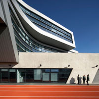 RIBA Stirling Prize 2011 - Evelyn Grace Academy by Zaha Hadid Architects  href=